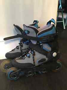 Boys size 6 roller blades