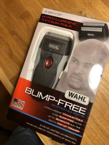 NEW Wahl Bump Free Rechargeable Shaver ($80 Retail)