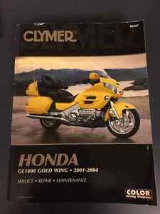 Clymer Gold Wing Goldwing 1800 manual