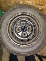 4 winter tires barely used 4x114 13inch