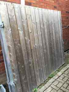 Solid Gate Fence