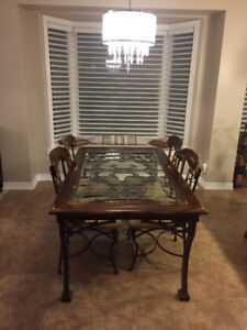 Beautiful Dinning  Set, One Table & Six Chairs