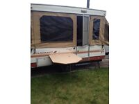 Starcraft trailer tent