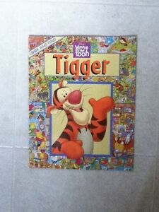 Large Look and Find Tigger Softcover Book