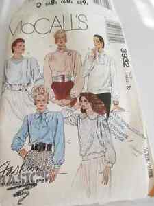 McCall's 3932 sewing pattern