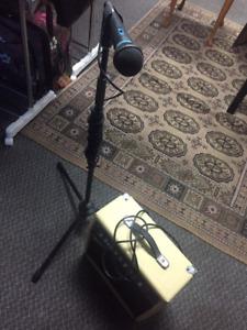 Amp & Microphone