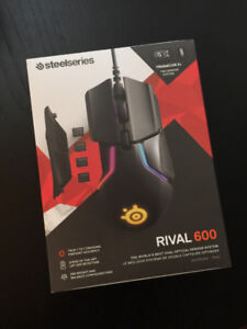 Steel Series Rival 600 Mouse - NIB Excellent Condition