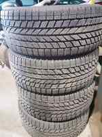 4winter tires with rims