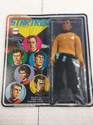 star trek captain kirk mego brand new card (1974)