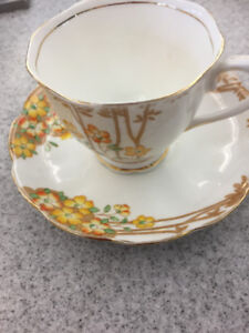 Royal Albert Dell pattern cup and saucer