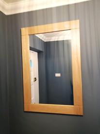 Oak Furniture Land solid oak Mirror
