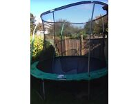 10ft trampoline in used condition