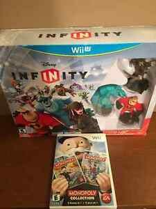Wii U Disney Infinity Starter Pack + Monopoly Collection