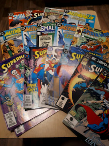Lot de comics marvel et DC