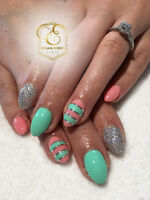 $15 OFF FIRST GEL NAIL SET WHEN YOU BOOK AND MENTION THIS AD!!