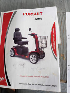 Pursuit scooter