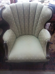 ANTIQUE WING BACK ARM CHAIR London Ontario image 1