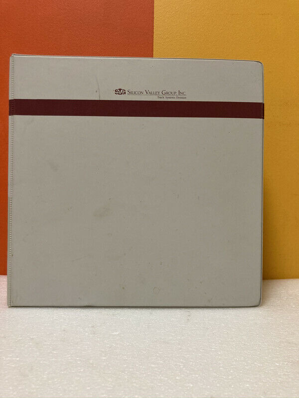 Silicon Valley Group 15-14700 8642 Spin On Glass Coater Manual