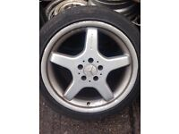 Mercedes sl 350 genuine 18 inch alloys alloys