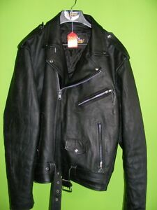 3XL - Classic Style Leather jacket at RE-GEAR