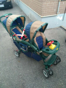 Double Stroller - Jeep