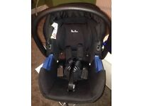 Silver Cross Simplicity Baby Car Seat, Black *OPEN TO OFFERS*