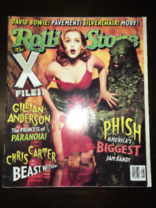 ROLLING STONE 754 FEBRUARY 20 1997 XFILES PHISH