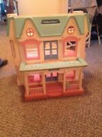 Awesome fisher price dollhouse