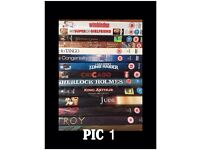 DVDs from £1 each charity sale