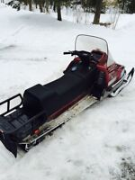 Enticer 340 long track with reverse bought a new sled