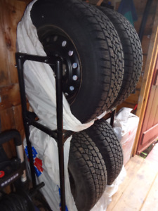 Winter Tires and rims for sale (225/65R160