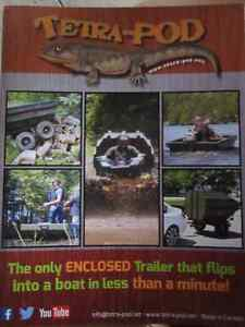 ATV Trailer that flips into a BOAT - TETRA-POD. Kitchener / Waterloo Kitchener Area image 7