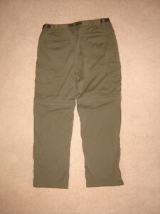 Zip-Off Pants sz L x 30, Banana Republic Pants sz 34 x 30