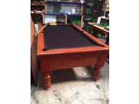 Pool table 7x4 slate bed BCE