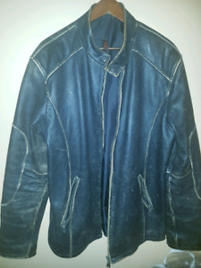 Danier leather men's coat