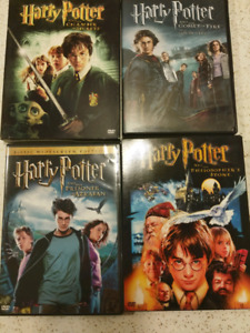 Harry Potter DVDs $2 Each all for $5
