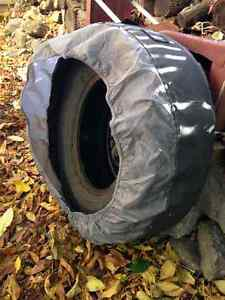 4 tires used-  studded  -great value- West Island Greater Montréal image 4