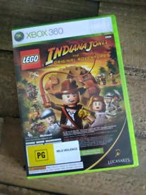 X-box 360 Lego Indiana Jones game