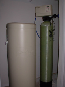 Culligan Water Softener with carbon filter