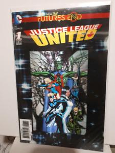 Justice League United 3D lenticular cover