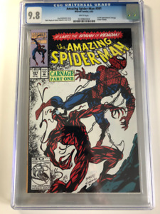 1st Carnage in Amazing Spider-man comic 361 CGC 9.8 $650 OBO