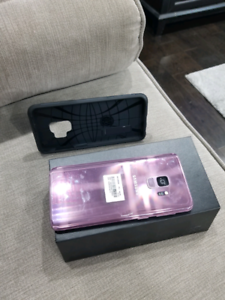 Samsung S9 64GB with extended warranty till September 2020.