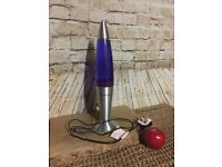 Lava lamp modern purple and pink