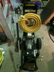Ghibli Canada HOT Water Electric Pressure Washer & Ghibli Gates