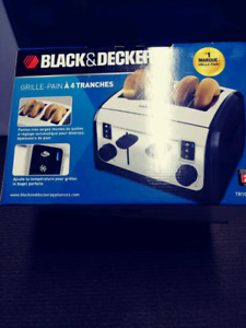 Brand New Black and Decker Toaster Pick Up Only
