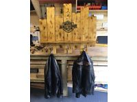 Harley Davidson coat rack