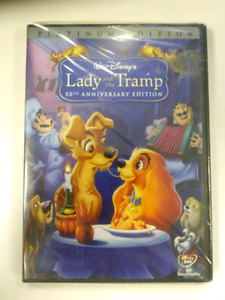 *New* Disney's Lady and the Tramp 2 DVD set Platinum Edition.