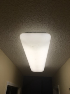 White Cloud Ceiling Light with Euro-Style Acrylic Lens