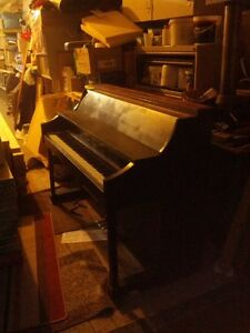 Piano out of Hotel Newfoundland Bar in St Johns