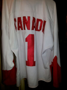 Team Canada Hockey Jersey 72 Summit Series Rare  Athletic Knit